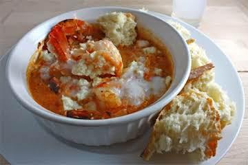 Garides Saganaki (Shrimp Saganaki) Recipe