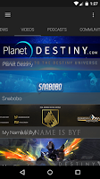 Screenshot of Community Hub for Destiny