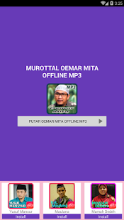 Murottal Oemar Mita Offline Mp3 - náhled