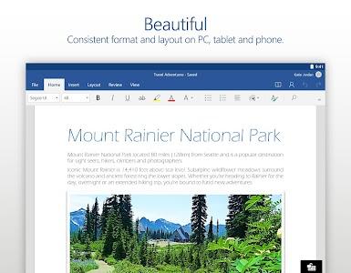 Microsoft Word v16.0.7127.1010