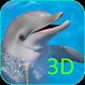 Os golfinho papel de Parede 3D icon