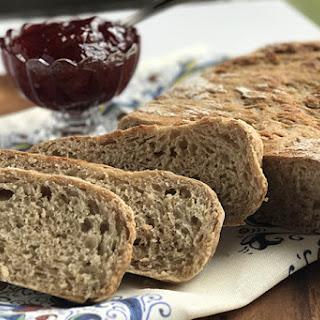 Rustic Slow Cooker Honey Whole Wheat Bread Recipe