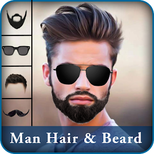 Man Hair Beard Style Editor Android Apps On Google Play - Edit hairstyle in picture online