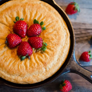 Strawberry Buttermilk Cake #SundaySupper #FLStrawberry