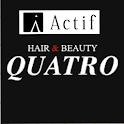 美容室・ヘアサロン Actif QUATRO(アクティフ クアトロ)公式アプリ icon