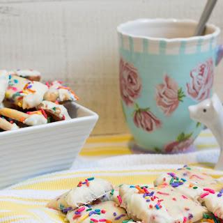 Rainbow Shortbread Cookies
