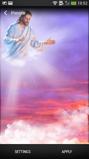 God Live Wallpaper screenshot 2