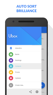 Ubox - Smart SMS Inbox Screenshot 2