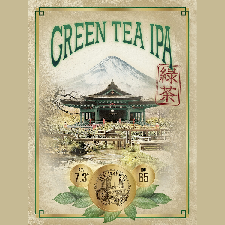 Logo of Heroes Green Tea IPA