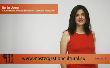 Photo: Belén Usero Coordinadora módulo Industrias Creativas y Culturales @belenusero