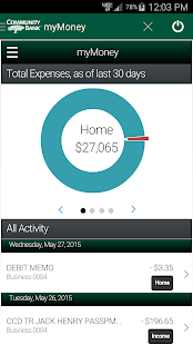 Community Bank's CellTeller- screenshot thumbnail