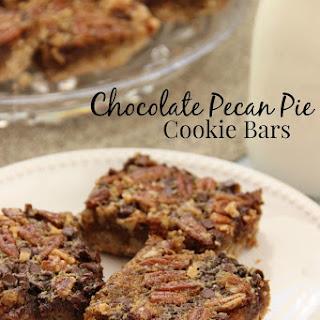 Chocolate Pecan Pie Cookie Bars