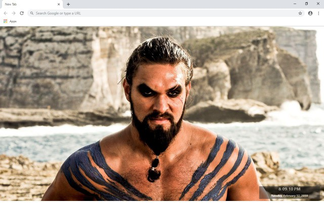 Khal Drogo New Tab & Wallpapers Collection