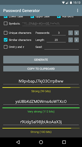 Password Generator 1.3.2 screenshots 5