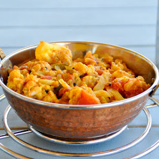 Cauliflower Tomato Masala