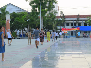 Photo: Year 2 Day 31 - Walking the Square in Vinh Long