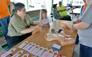 Photo: Craft time for the youth...