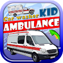 Car Washer Kid Ambulance icon