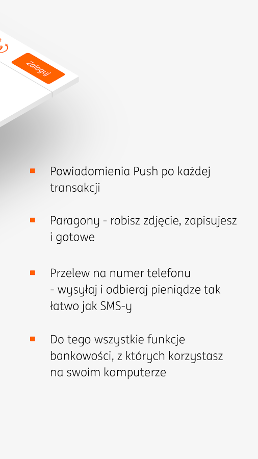 Moje ING mobile- screenshot