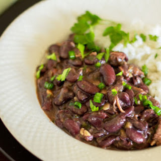 Red Beans and Rice with Tasso.