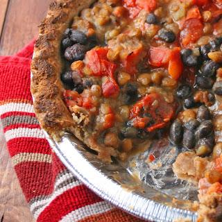Upside Down Lentil Pot Pie.