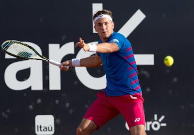 Nummer acht van de wereld plaatst zich voor tweede ronde in Wenen na lastige wedstrijd tegen Lloyd Harris