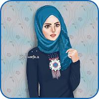 Girly m Muslimah Wallpapers Cartoon Hijab