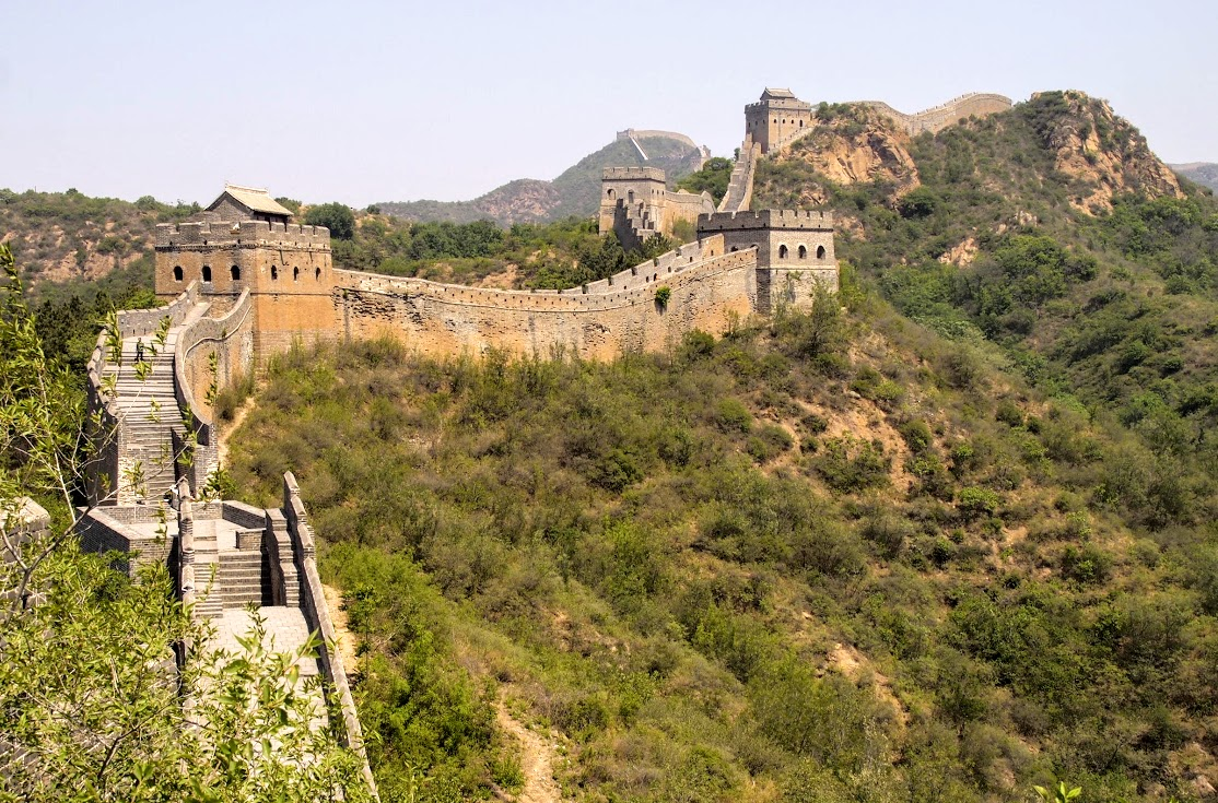 The Great Wall was much more impressive than I expected