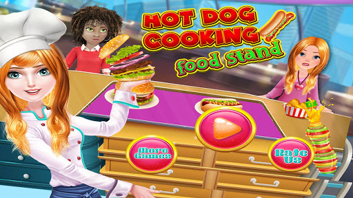 Hot Dog Cooking Food Stand 1.0 screenshots 1