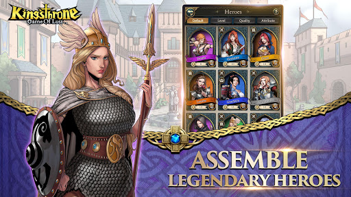 King's Throne: Game of Lust apktreat screenshots 2