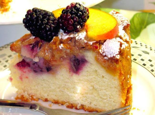 Blackberry-peach Coffee Cake Recipe