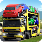 Cars Transport Trailer : cars transporter Icon
