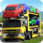 Cars Transport Trailer : cars transporter