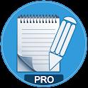 Notas- Editor de texto PRO icon