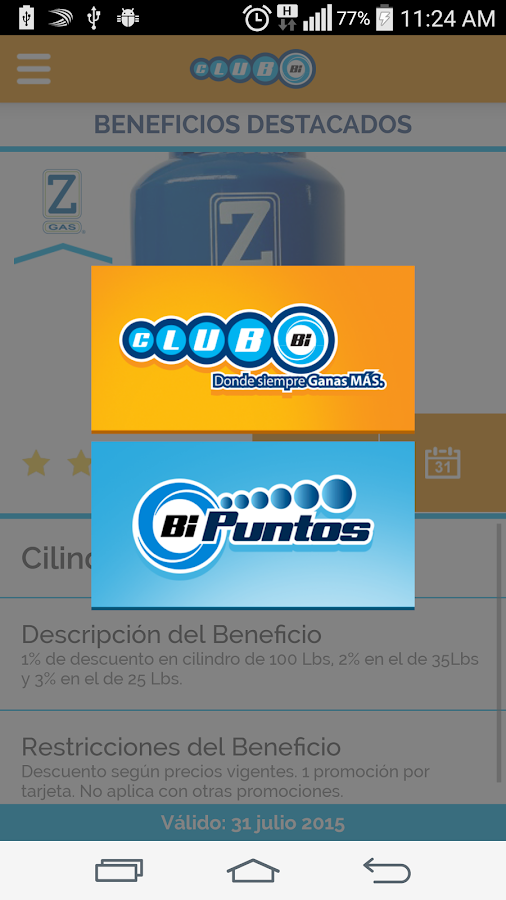 Mi Club BI- screenshot