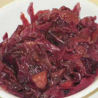 Slow Cooker Red Cabbage and Apples.