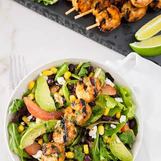 Southwestern Grilled Shrimp Salad.