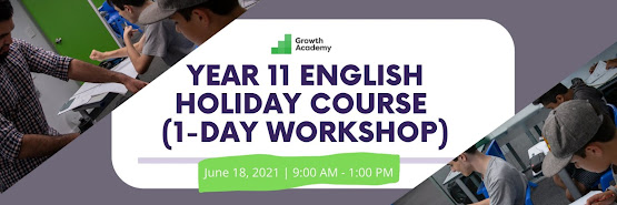 Year 11 English Holiday Course (1-day online workshop)
