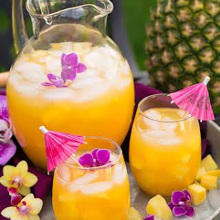 Pineapple Mango Lemonade.