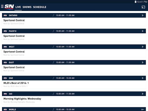 Sportsnet screenshots 15