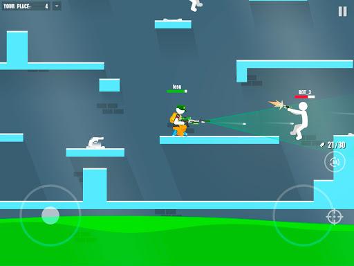 Stickman Battles: Online Shooter 1.0 screenshots 7