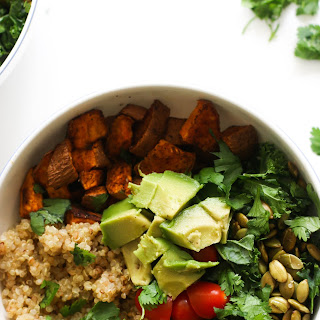 Kale Quinoa Power Bowl.