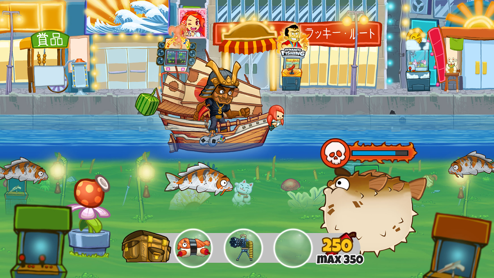 Dynamite fishing world games android apps on google play for Kansas fish and game