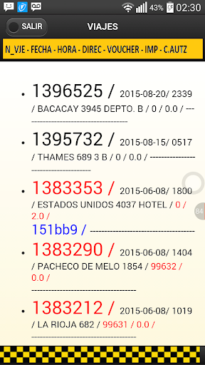 Taxistas Radio Taxi Taxitel  screenshots 6