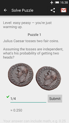 Probability Math Puzzles android2mod screenshots 1