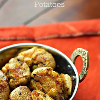 Indian Smashed Potatoes