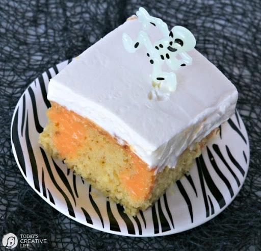 Dream Scream Poke Cake