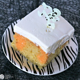 Dream Scream Poke Cake