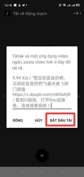 Tải video Tiktok Trung Quốc trên điện thoại (4)