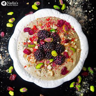 Banana, Date & Almond Buckwheat Porridge